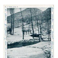 Postales: CAMPRODON, PAISATJE D'HIVERN, º SERIE, Nº6, THOMAS, BARCELONA. Lote 122059223