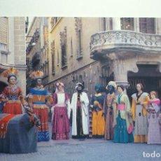 Postales: POSTAL COMPARSA DE GIGANTES DE REUS. Lote 145811164