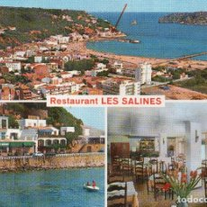 Postales: ESTARTIT. RESTAURANT LES SALINES. Lote 122103947