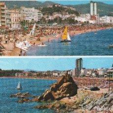 Postales: COSTA BRAVA - LLORET DE MAR - FABREGAT. Lote 122104343