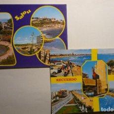 Postales: LOTE POSTALES SALOU. Lote 122124719