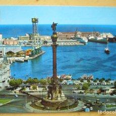 Postales: BARCELONA - MONUMENTO A CRISTOBAL COLÓN. Lote 122126035