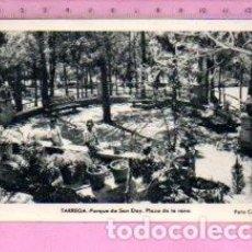 Postales: POSTAL DE TARREGA PARQUE DE SAN ELOY FOTO CALAFELL SIN CIRCULAR . Lote 122135379