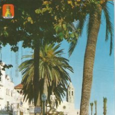 Cartoline: SITGES, MONUMENTO AL GRECO - LAMINOGRAF 216 - EDITADA EN 1963 - CIRCULADA. Lote 122306423