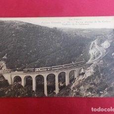 Postales: PIRINEOS ORIENTALES. 333. LA CERDAÑA. VIADUCTO DE LA CABANASSE. Lote 122314439