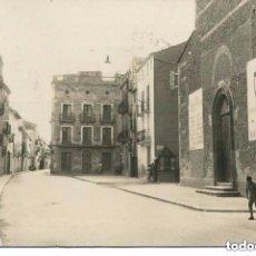 Postales: TARRAGONA-SANTA BARBARA- IGLESIA CON CARTELES EN LA FACHADA POR LOS CAÍDOS -FOTOGRÁFICA. Lote 122530163