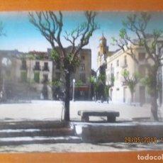 Postales: POSTAL GANDESA -PLAZA DUQUE DE LA VICTORIA -SIN ESCRIBIR. Lote 122560471
