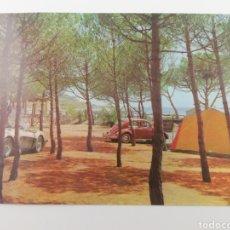 Postales: POSTAL ALTAFULLA PLAYA Y CAMPING, TARRAGONA CATALUNYA, VOLKSWAGEN BEETLE, FOTO RAYMOND.. Lote 122681262