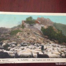 Postales: VILADRAU - 19 - SANT SEGIMON - CIRCULADA 1928. Lote 123053715