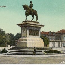 Postales: POSTAL BARCELONA.- MONUMENTO A PRIM -EDITA DR.TRENKLER -LEIPZIG. Lote 123388323