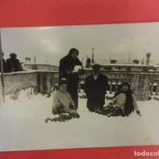 Postales: BARCELONA. NEVADA ENERO DE 1914. POSTAL FOTOGRÁFICA. Lote 124184511