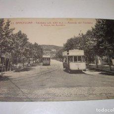 Postales: ANTIGUA POSTAL...BARCELONA..TIBIDABO.. Lote 124184531