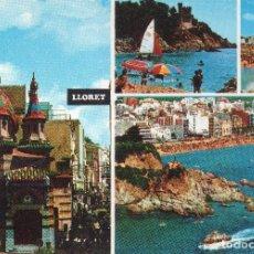 Postales: COSTA BRAVA LLORET .. Lote 124204175