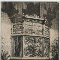 Postales: POSTAL PUBLICITARIA EXPOSICION MINERIA CATALUÑA ISLAS BALEARES UNION METALURGICA DIPLOMA HONOR 1906. Lote 124423499