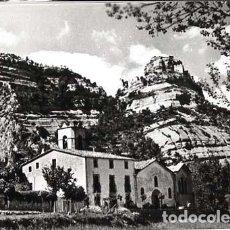 Postales: BARCELONA SAN MARTIN DE CENTELLES PARROQUIA. FOTO PUJOL ED. G.I.F. SIN CIRCULAR. Lote 124502751