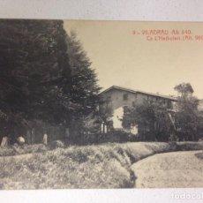 Postales: VILADRAU - 9 - CA L'HERBOLARI - 11669 - FOTOTIPIA THOMAS - CIRCULADA 1931. Lote 124901631