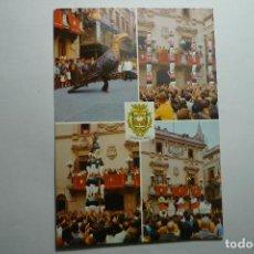 Postales: POSTAL VILAFRANCA DEL PDES. FIESTA MAYOR. Lote 125036671