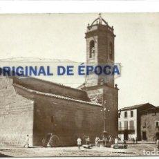 Postales: (PS-57177)POSTAL FOTOGRAFICA DE BELLCAIRE DE URGELL-IGLESIA PARROQUIAL. Lote 125157227