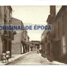 Postales: (PS-57176)POSTAL FOTOGRAFICA DE BELLCAIRE DE URGELL-CALLE DE CATALUÑA. Lote 125157355