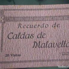 Postales: CUADERNILLO CON 15 POSTALES DE CALDAS DE MALAVELLA, GERONA, VER FOTOS. BUEN ESTADO. Lote 125398823