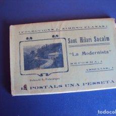 Postales: (PS-57207)CARPETA DE 12 POSTALES A.T.V.SANT HILARI SACALM-COLECCIONS J.XIMENO PLANAS. Lote 125692991