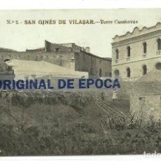 Postales: (PS-57224)POSTAL FOTOGRAFICA DE SAN GINES DE VILASAR-TORRE CASANOVAS. Lote 125839147