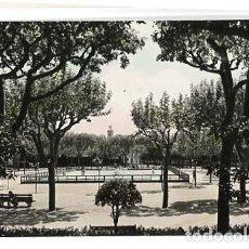Postales: BARCELONA MATARO PARQUE PISTA PATINAJE POSTAL FOTOGRÁFICA EN BLANCO Y NEGRO, COLOREADA, ESCRITA. Lote 125846019