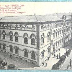 Postales: A.T.V. 2028 BARCELONA CONSTRUCCIONES MODERNAS, CALLE DE CAMEROS 8, ARQ. BUENAVENTURA BASSEGODA. Lote 125849507