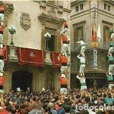 Postales: VILAFRANCA DEL PENEDÈS - 5439 ELS CASTELLERS. Lote 126050015