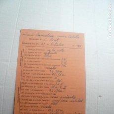 Postales: OBSERVACIÓN METEOROLÓGICA EN CALELLA. Lote 126242307