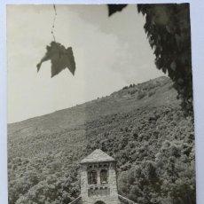 Postales: POSTAL MONTSENY HOTEL SAN BERNAT CAPILLA FOTO M. MATEO SIN CIRCULAR. Lote 126345207
