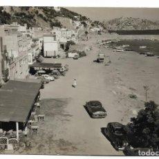 Postales: POSTAL FOTOGRAFICA Nº 15 DE ESTARTIT, COSTA BRAVA, VISTA PARCIAL. COMERCIAL PRAT. ESCRITA 1960. Lote 126419967