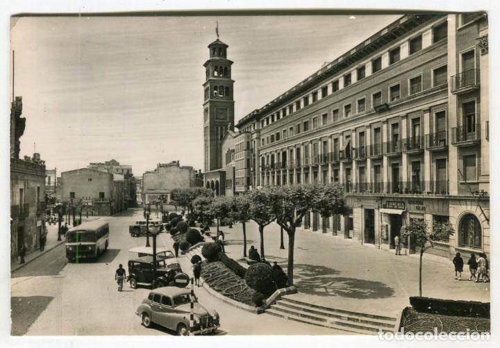HOSPITALET PLAZA DEL AYUNTAMIENTO CIRCULADA (Postales - España - Cataluña Moderna (desde 1940))