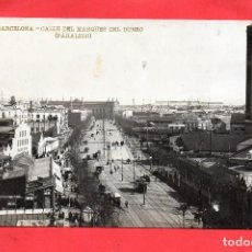Postales: BARCELONA. LUIS BARTRINA 2. CALLE MARQUES DEL DUERO. PARALELO. Lote 126740179