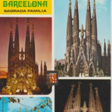 Postales: (24) BARCELONA. SAGRADA FAMILIA. Lote 126900139