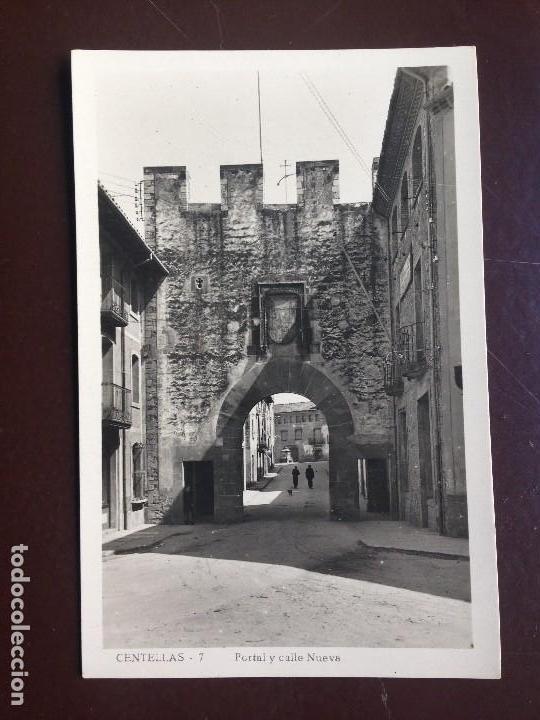 Postales: Centellas. 7 - PORTAL Y CALLE NUEVA. GUILERA - CIRCULADA 1950 - Foto 2 - 126986503