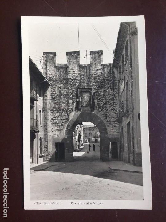 Postales: Centellas. 7 - PORTAL Y CALLE NUEVA. GUILERA - CIRCULADA 1950 - Foto 3 - 126986503