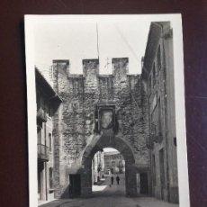 Postales: CENTELLAS. 7 - PORTAL Y CALLE NUEVA. GUILERA - CIRCULADA 1950. Lote 126986503