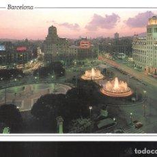 Postales: PLAZA CATALUÑA. BARCELONA.. Lote 127208187