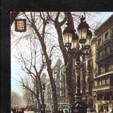 Postales: FUENTE DE CANALETAS. RAMBLA. BARCELONA.. Lote 127212059