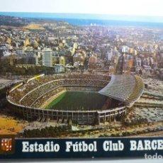 Postales: POSTAL BARCELONA ESTADIO DE FUTBOL. Lote 127276943