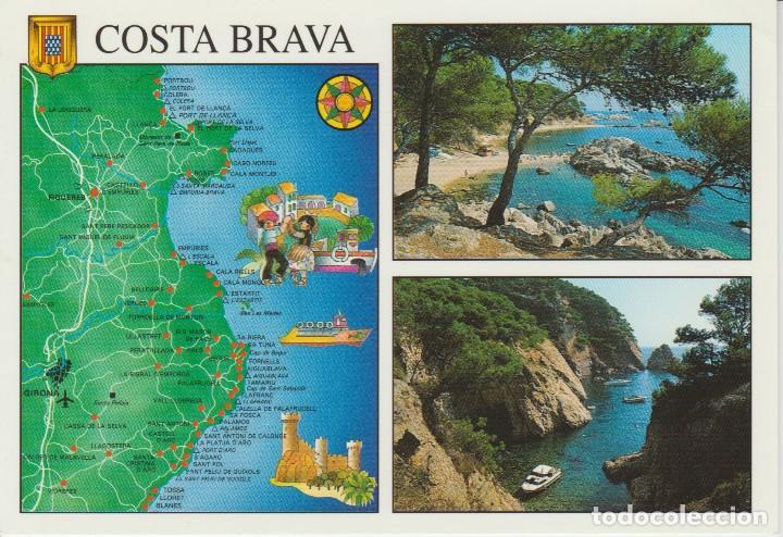 Mapa Norte España Costa.64 Costa Brava Mapa
