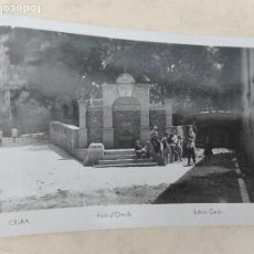 Postales: 5 - CELRA - FONT D'ORRIOLS - EDICIÓ CARÓS . Lote 127652579