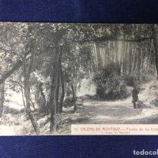 Postales: POSTAL ANTIGUA CALDAS MONTBUY FUENTE ENAMORADOS 15 ROISIN NO CIRCULADA NO ESCRITA. Lote 127904207