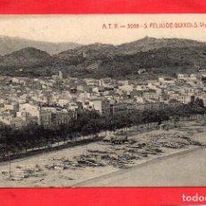 Postales: SAN FELIU DE GUIXOLS. ATV 3058 VISTA PARCIAL. Lote 128033051