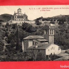 Postales - barcelona. atv 67. iglesia de vallvidrera - 128071891