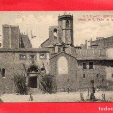 Postales: BARCELONA. ATV 120. IGLESIA DE SAN PEDRO DE LAS PUELLAS. Lote 128132763
