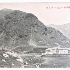 Postales: ANTIGUA TARJETA POSTAL ANTIGUA A.T.V. 3223 NURIA VISTA GENERAL 1905-1911 ,SIN CIRCULAR *. Lote 128337223