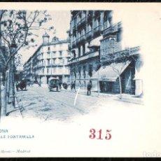 Postales: POSTALES - BARCELONA. CALLE FONTANELLA.. Lote 128373307