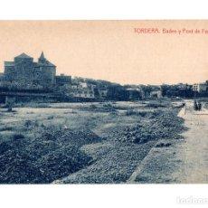 Postales: TORDERA.- BADEN Y PONT DE FERRO. FOTOTIPIA THOMAS. Lote 128409951